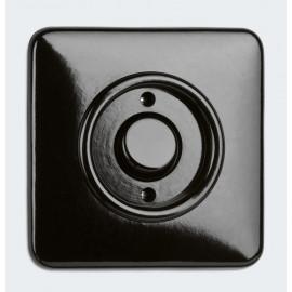 Schaltereinsatz Kontroll / Wechsel Kombi, Unterputz 10A / 250V, Bakelit schwarz, THPG