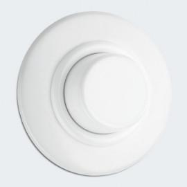 Tast Dimmereinsatz Kombi, Unterputz, 20 - 315W, Porzellan weiß, THPG