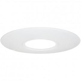 Einbauleuchten Montageplatte Metall weiß zur Abdeckung vorhandener Löcher Ø 70-180 mm