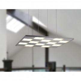 Pendelleuchte, Wohnraumleuchten NEW HAVEN, LEDs / 230V /29W Metall Chrom