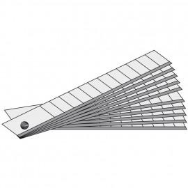 Ersatzklingen zu TAJIMA-Cutter, Breite 9 mm