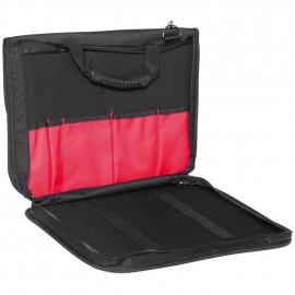 Falt Werkzeugtasche, mit 2 Fächern für Dokumente und Notebook