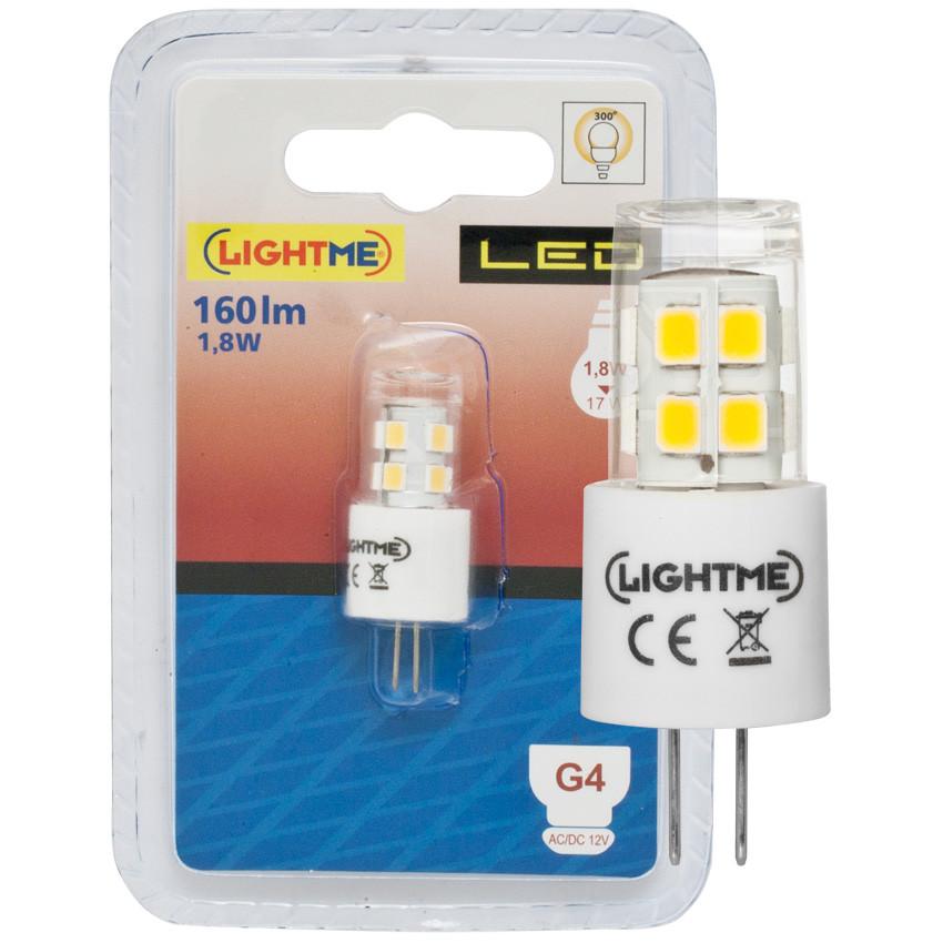 led lampe stift sockel g4 1 8w 160 lm 3000k lightme. Black Bedroom Furniture Sets. Home Design Ideas