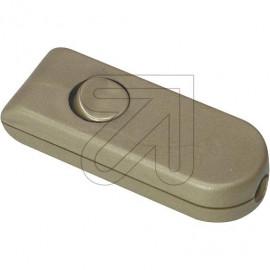 Wipp Zwischenschalter Aus gold 2A 1 polig, Gehäuse geschraubt