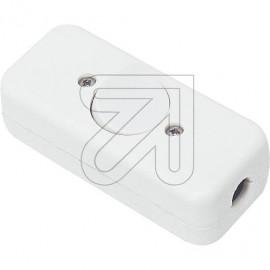 Wipp Zwischenschalter Aus weiß 10A 2 polig mit 2 Zugentlastungen