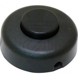 Fußtret Schalter Aus \kr schwarz 2A Schraubkontakte, 230V