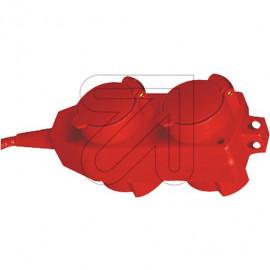 Vier Wege Hängekupplung Thermoplast Zugentlastung / Aufhängeöse VDE / Kema Keur