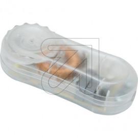 Lampen Schnur Fußdimmer, 20 - 200W, Phasenanschnitt, transparent Ehmann