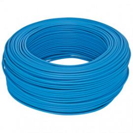 10 Meter Aderleitung, 1,5²mm H07V-K, blau, inkl. CU ( Meterware )