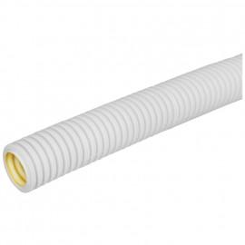 100 Meter flexibles mittleres Polyolefine- Isolierrohr, grau Ø M 16 mm