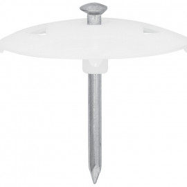 100 Stück Nagelscheibe, NAGEL-FIX, Nagel-Ø 3,5 x Nagel Länge 70 mm