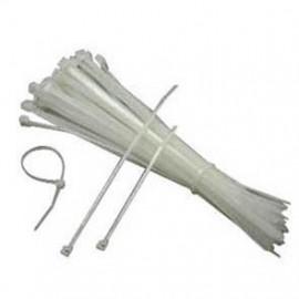 100 Stück Kabelbinder, Länge 200 mm x Breite 4,8 mm, natur