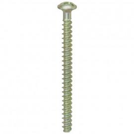 100 Stück Schrauben für UP Dosen Länge 40 mm mit Schlitz/Kreuz PZ1-Kopf