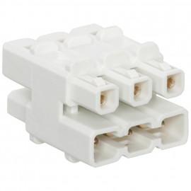 NV / LED Trafos Verteiler, Primär: 1 Eingang, Sekundär: 5 Ausgänge