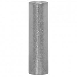100 Stück Stoßverbinder, ohne Isolierung, für Kabel Ø 2,5²mm Länge 15mm