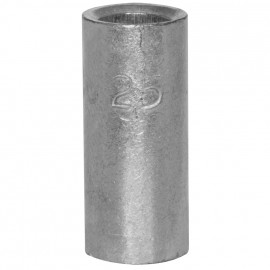 100 Stück Stoßverbinder, ohne Isolierung, für Kabel Ø 25mm Länge 29mm