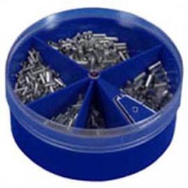 Aderendhülsen Box, 0,5²mm bis 2,5²mm, nach DIN 46228, Kupfer verzinnt Inhalt 1000 Stück