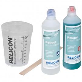 Zwei Komponenten Silikongel Set, RELIGEL, IP68, 2 Flaschen à 500 ml