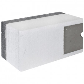 Dämmblock, Geräteträger 12 kg, Eckmont. 160 - 200 mm - F-tronic