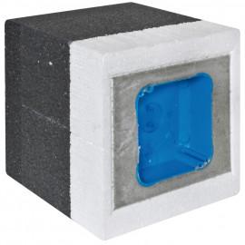 Dämmblock, Abzweigdose, 100 - 140 mm - F-tronic