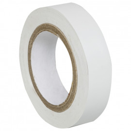 PVC Isolierband,  PROFI 150, Breite 15 mm, Länge 10 m Farbe weiß - 10 Stück