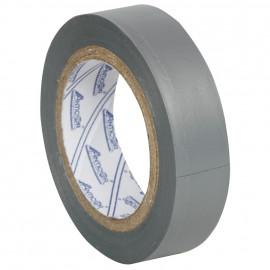 PVC Isolierband, PROFI 150, Breite 15 mm, Länge 10 m Farbe grau - 10 Stück
