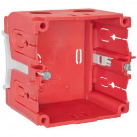 Geräteeinbaudose für PVC- Kanäle mit Seitenhöhe 60 mm