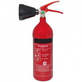 Feuerlöscher, Kohlendioxid, 2 kg, Höhe 460 mm, Ø 115 mm