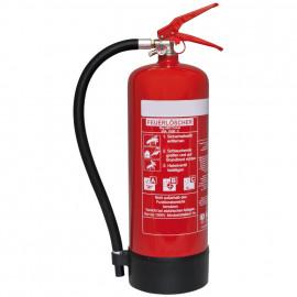 Feuerlöscher, Pulver, 2 kg, Höhe 460 mm, Ø 125 mm
