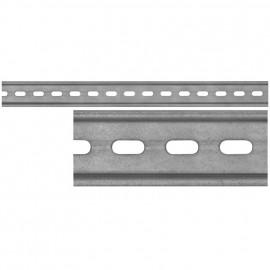 Hutschiene 35 mm, Länge 1000 mm, gelocht - Pollmann