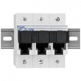 Sicherungslasttrennschalter für D02-Schmelzeinsätze, 3-polig Nennstrom 35A