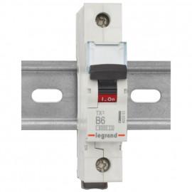 Leitungsschutzschalter, 1 polig, 6A B Charakteristik, Baureihe LEXIC TX³ Legrand