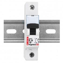 LS Leitungsschutzschalter, 1 polig, B Charakteristik 10A, Legrand LEXIC DX-E