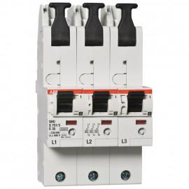 Hauptleitungsschutzschalter, 3-polig, E-Charakteristik, Nennstrom 35A - ABB