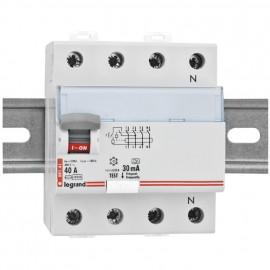 FI Schutzschalter, 4-polig, Baureihe LEXIC 63A / 0,03 - Legrand