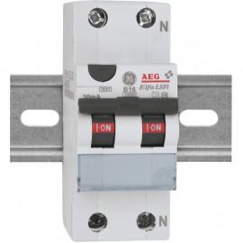FI / LS Schutzschalter, 2-polig, 16A/0,03 und B Charakteristik 16A, Baureihe DS 201 - ABB
