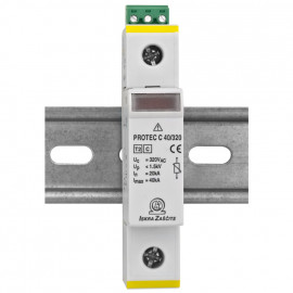 Überspannungsschutz, 230V, 1-polig, C - Pollmann