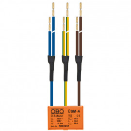 Einbau Überspannungs schutz Modul, KÜSM-A-2, 1-polig+N/PE - OBO