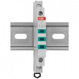 Leuchtmelder 3-polig grüne LED Baureihe E 210 - ABB