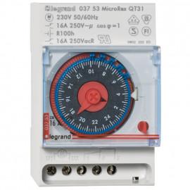 Schaltuhr, MICRO REX T 31, Schaltabstand 15 Minuten mechanisch 16A - Legrand