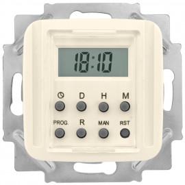 Zeitschaltuhr Kombi-LCD, elektronisch, 230V / 1250-2500W / 600VA, KLEIN SI® weiß