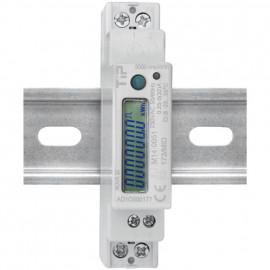 Stromzähler, für Wechselstrom, einphasig, 230V-AC/0,25-5 (32A)