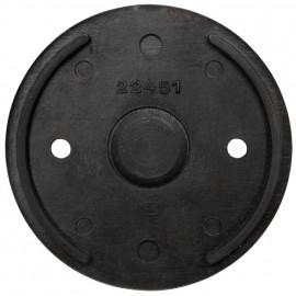 Bodenplatte, für Schalter und Steckdose, Bakelit schwarz, THPG