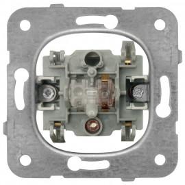 Schaltereinsatz Kontroll / Aus, mit LED, Viko