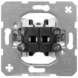 Schaltereinsatz Serien mit Steckanschluss