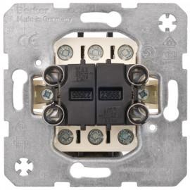 Schaltereinsatz Doppelwechsel mit Steckanschluss