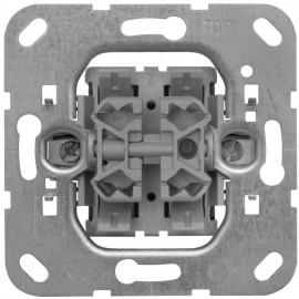 Schaltereinsatz mit Steckanschluss Doppelwechsel Gira