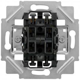 Schaltereinsatz mit Steckanschluss / Spreizkrallen Klein Typ: Doppel Wechsel