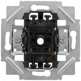 Schaltereinsatz mit Steckanschluss / Spreizkrallen Tastereinsatz, 1 Schließer / N