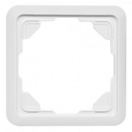Abdeckrahmen Schaltereinsatz, 1-fach, passend für Jung® ST 550 weiß